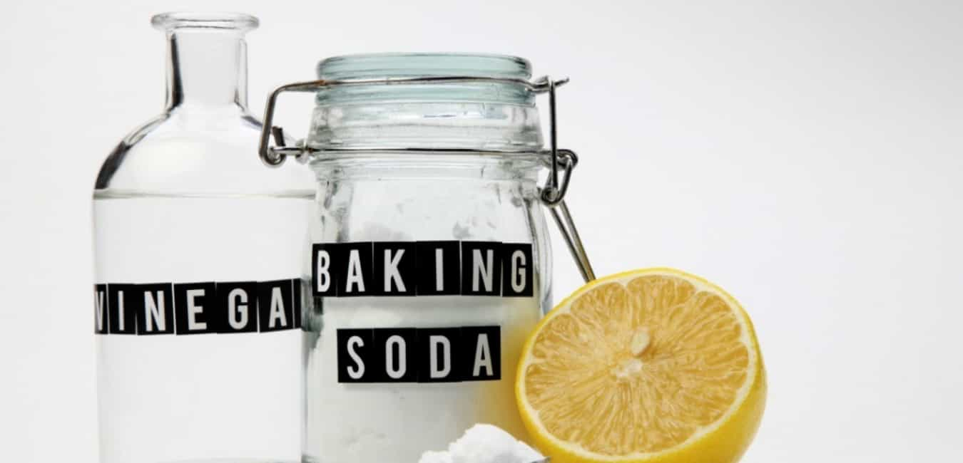 How To Get Rid Of Toilet Ring - Baking soda and vinegar