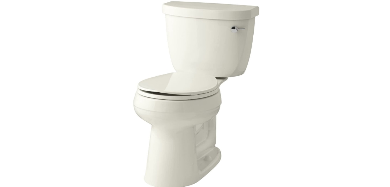 Kohler Cimarron Comfort Height Two-Piece Toilet