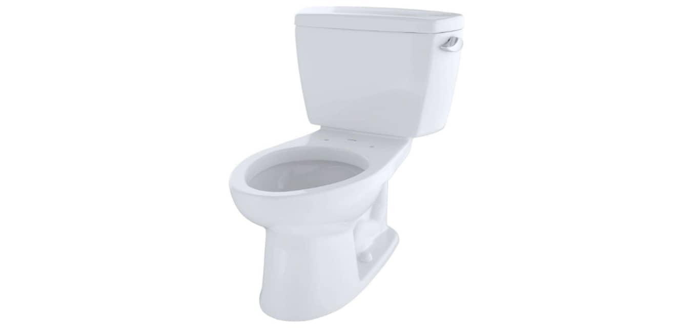 TOTO Drake 2-Piece Ada Toilet with Elongated Bowl - Best Quiet Flush Toilet