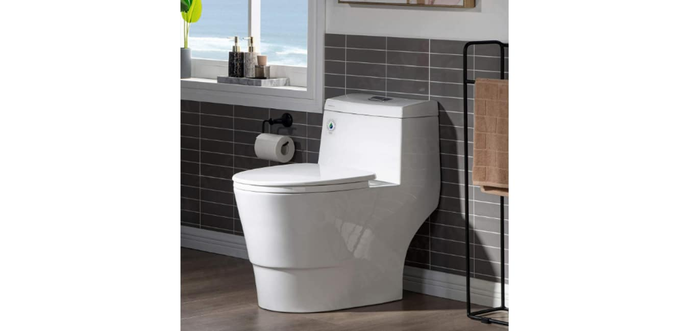 WOODBRIDGE T-0001, Dual Flush Toilet