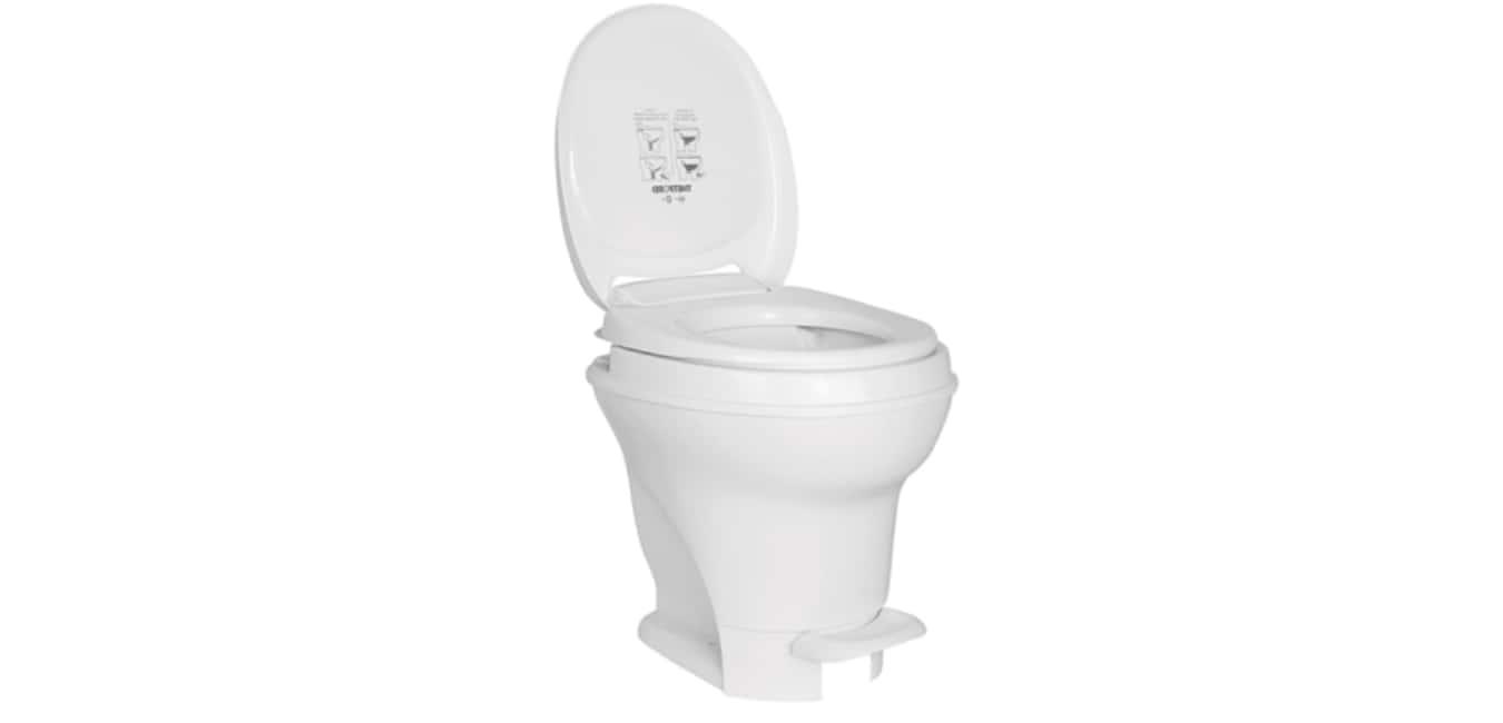 Aqua-Magic V RV Toilet Pedal Flush Installation