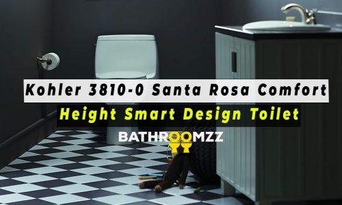Kohler 3810-0 Santa Rosa Comfort Height Smart Design Toilet Review