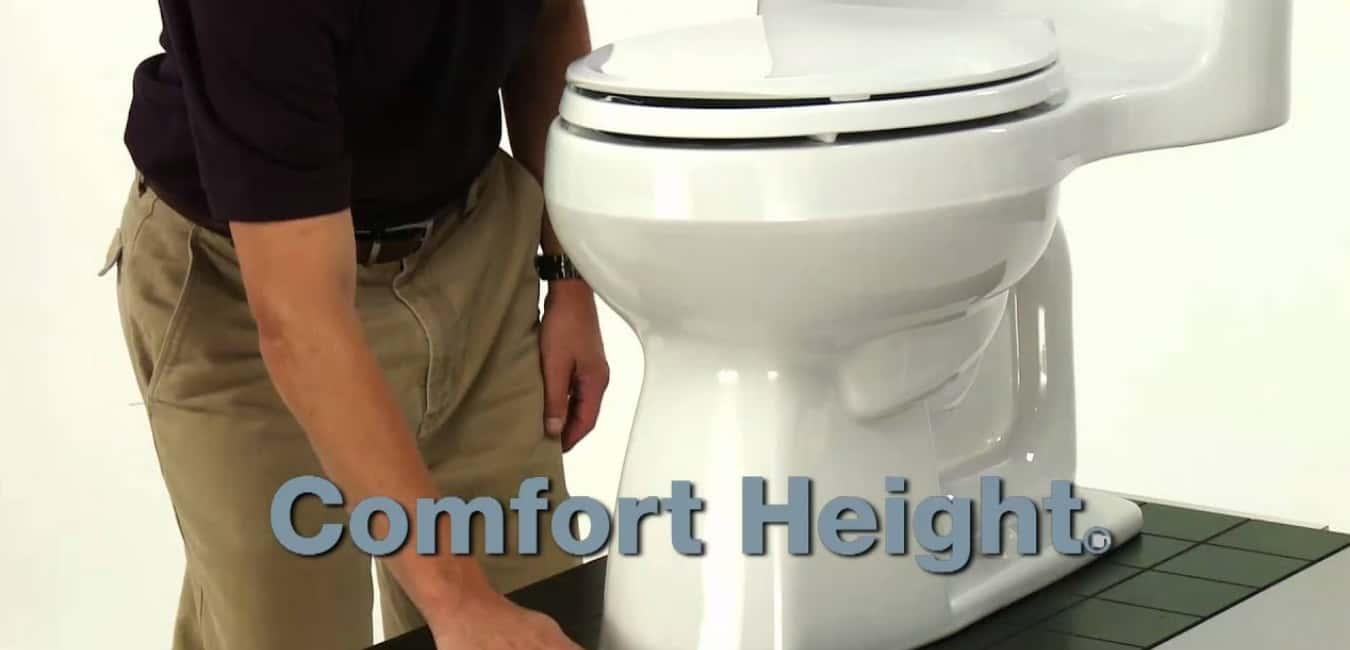 Kohler 3810-0 Santa Rosa Comfort Height