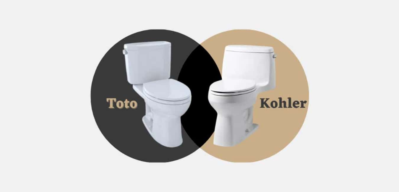 Similarities and Dissimilarities Between the Toto Kohler Toilets