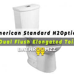 American Standard H2Option - Dual Flush Elongated Toilet