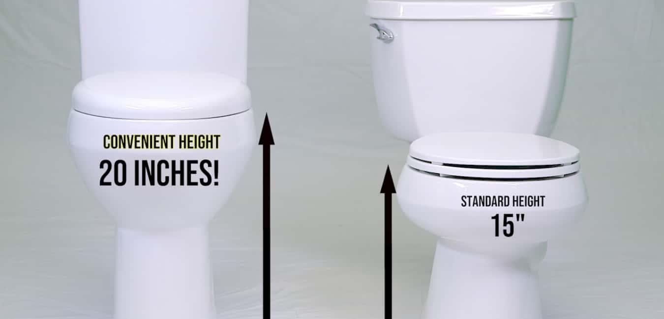 Best Convenient Height Toilet - Comfortable Height Toilet