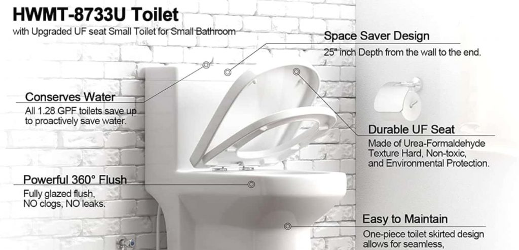 HOROW HWMT 8733 One Piece Toilet – Features and Benefits