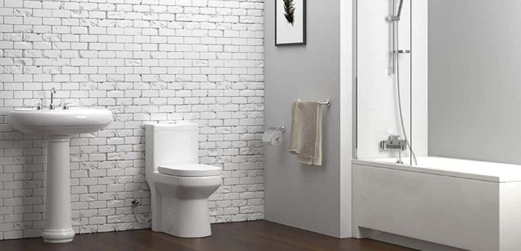 HOROW HWMT 8733 One Piece Toilet Smart Design