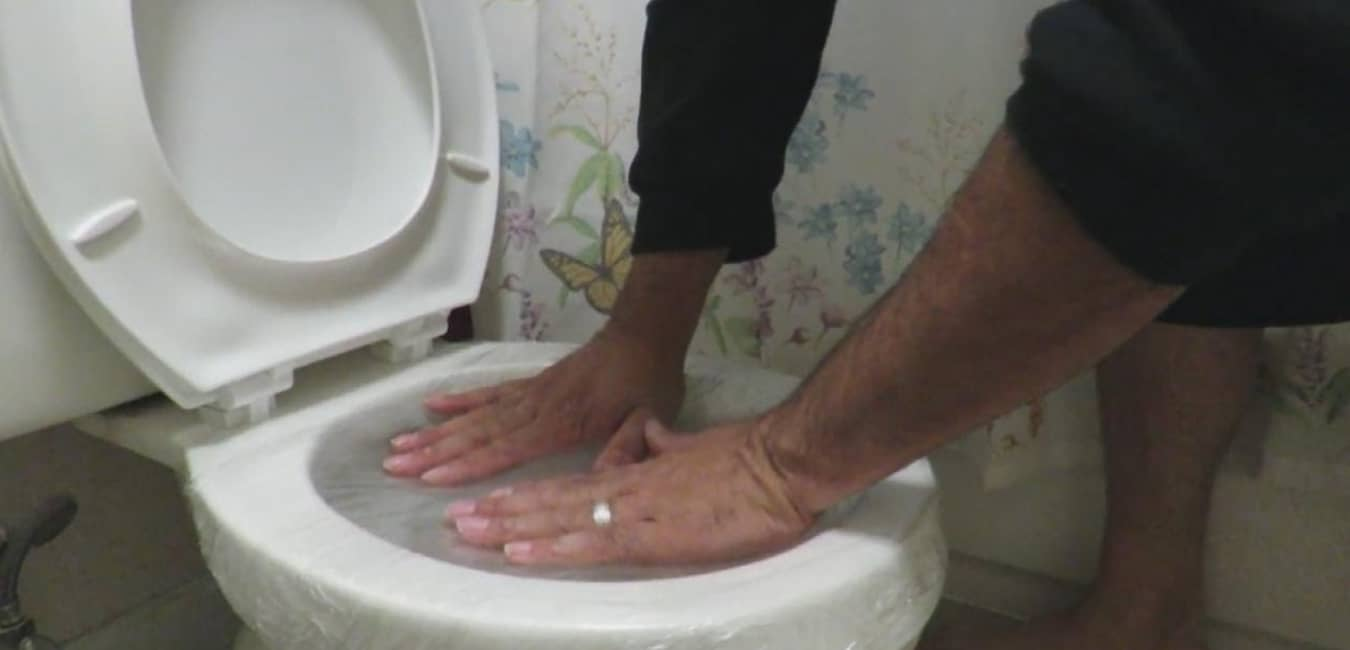 Unclogging a Toilet Without a Plunger