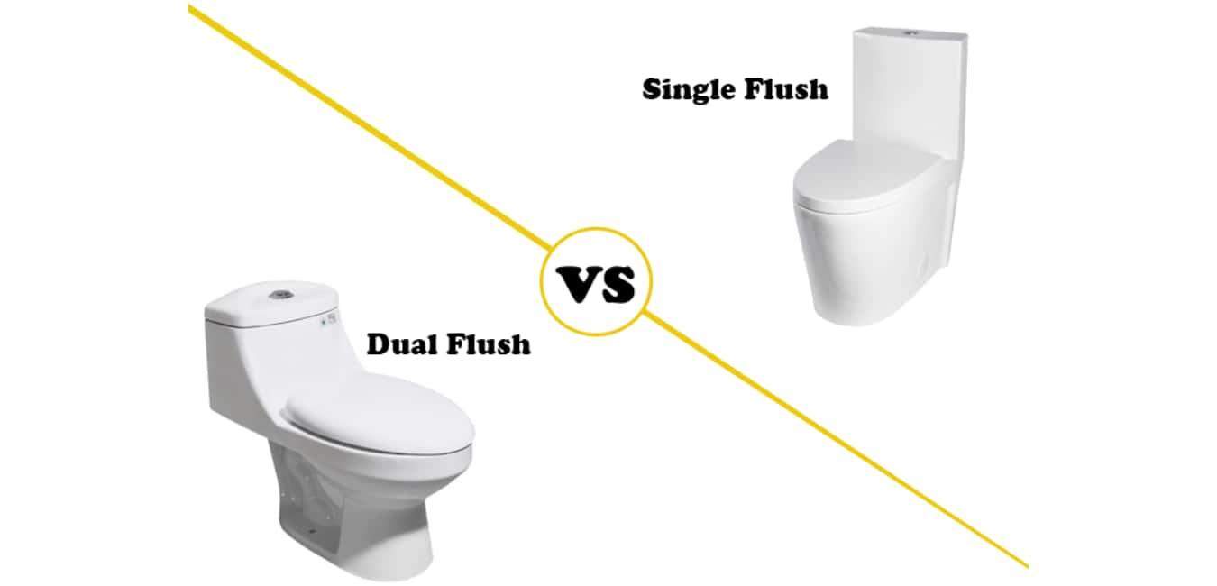 Dual Flush Toilet VS Single Flush Toilet