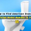 How to Find American Standard Toilet Model Number in 2021