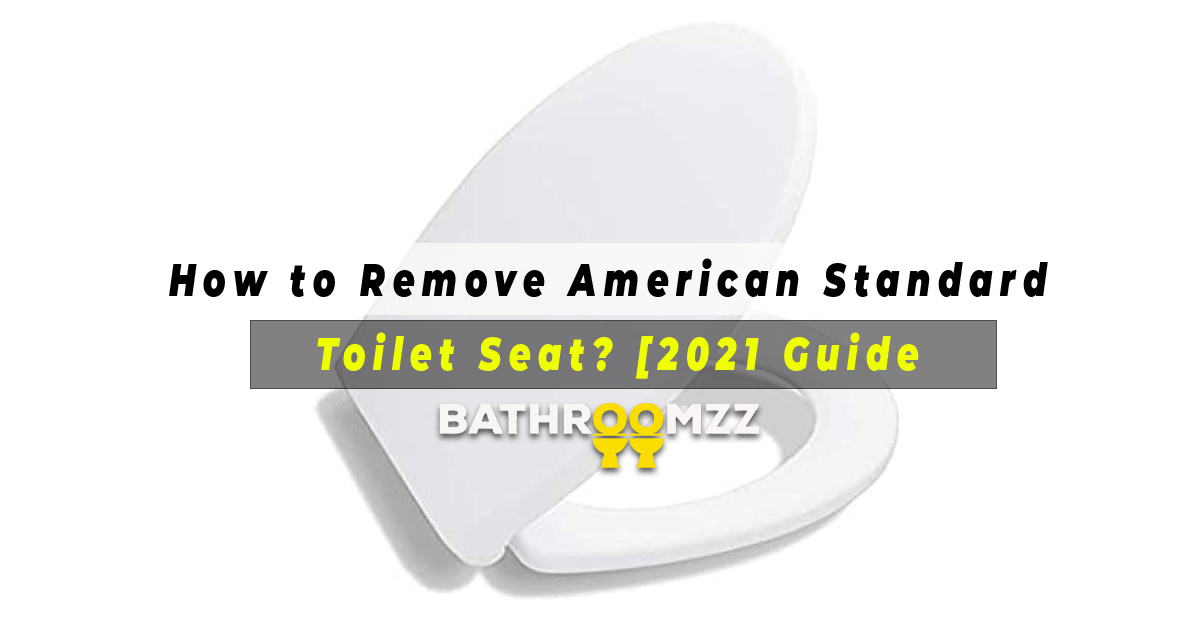 How to Remove American Standard Toilet Seat [2021 Guide]