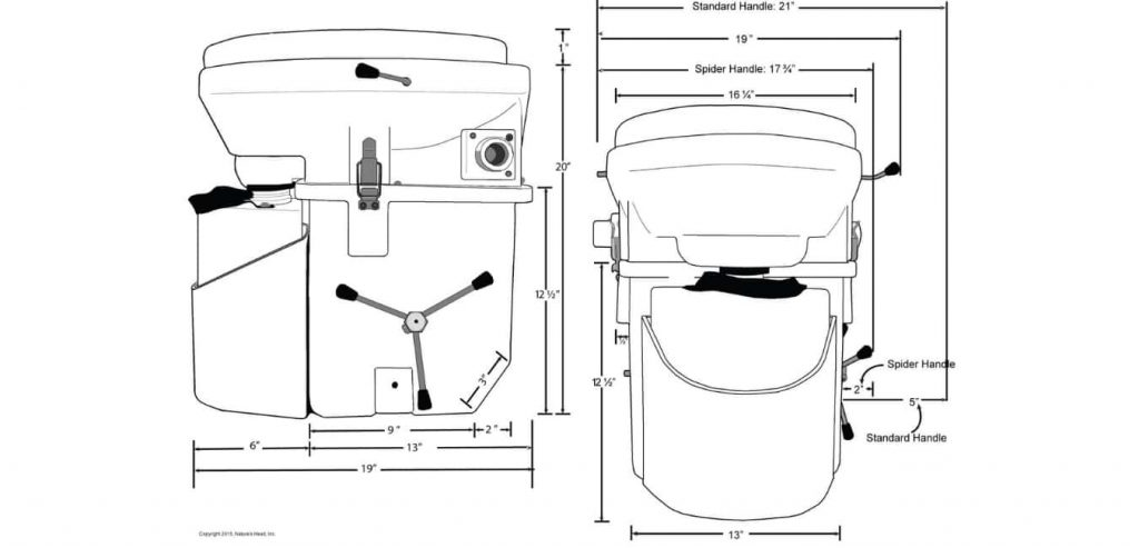 Nature's Head Composting Toilet Installation Guide