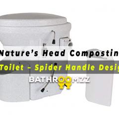 Nature's Head Composting Toilet - Spider Handle Design