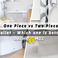 One Piece vs Two Piece Toilet - Which one is better