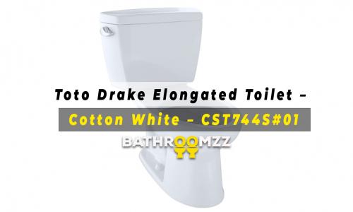 Toto Drake Elongated Toilet – Cotton White - CST744S#01